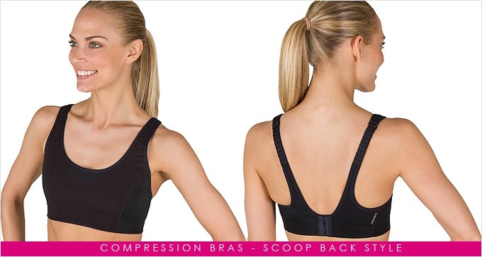 Compression-bras---Scoop-back-style