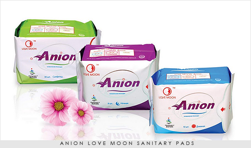 Anion-Love-moon-Sanitary-pads
