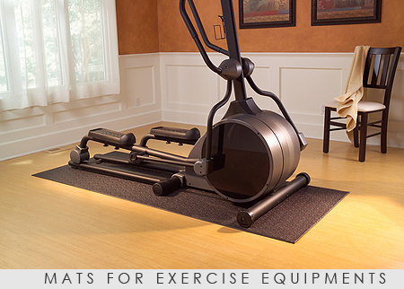 Mats-for-exercise-equipments