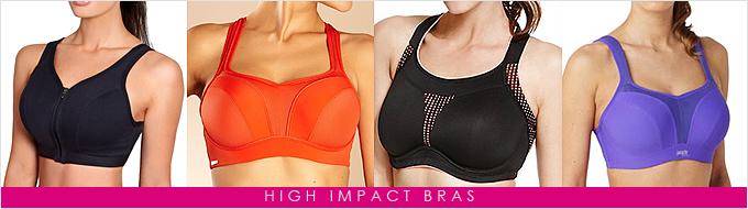 High-impact-bras