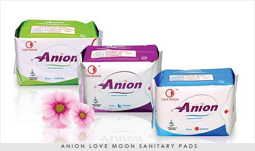 Anion-Love-moon-Sanitary-pads