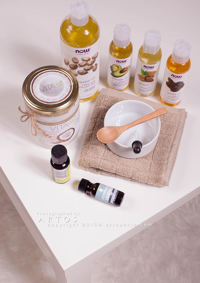 Hair-Porosity-oil