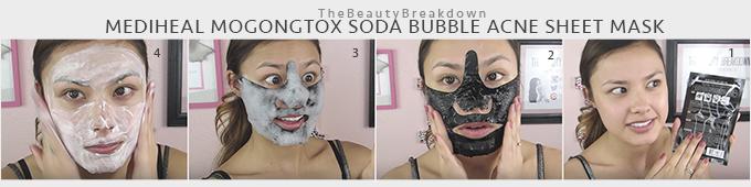 Mediheal-Mogongtox-Soda-Bubble-Acne-Sheet-Mask